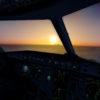 Samolot-AirBus-A320-A321-symulator-widok-z-kokpitu
