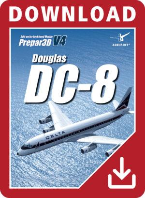 Samolot-Douglas-DC-8