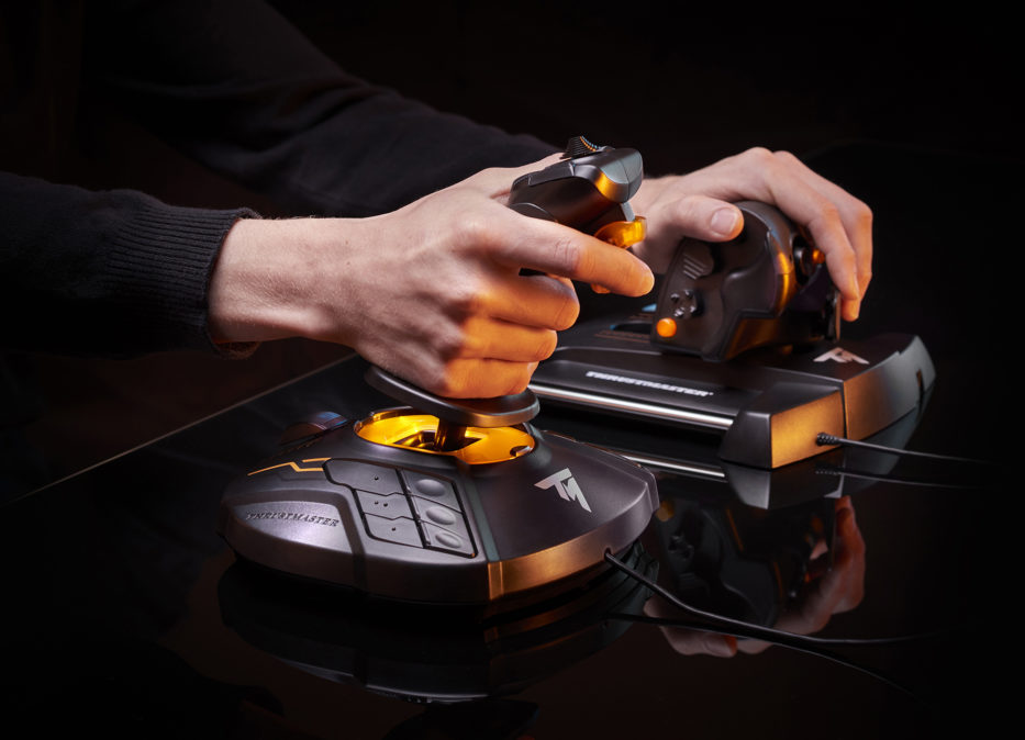 joystick-przepustnica-pc